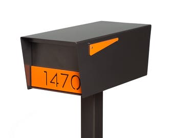 Goodwood Mailbox - Powder Coated - Stainless Steel - Custom Oil Rubbed Bronze