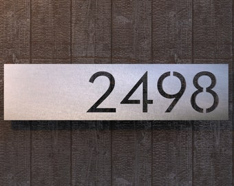 Highland Stainless Steel House Numbers