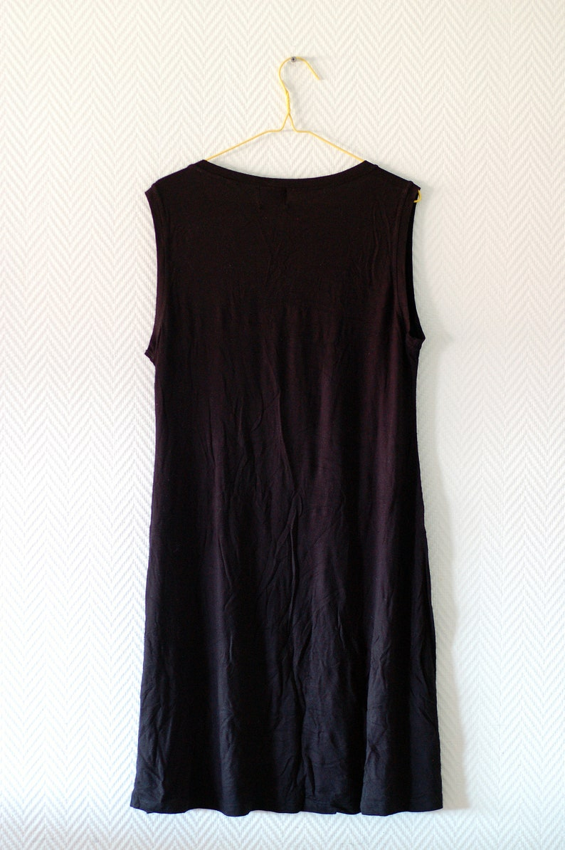 SUPER SALE Black stretchy dress from The Masai Clothing Company