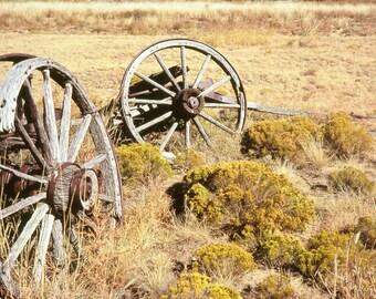 Rustic Art, wagon # 4, prairie, primitive, rustic, historic, Country Home Decor, Fine Art Photograph