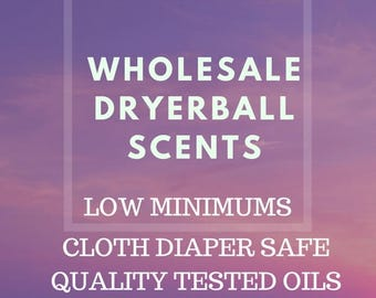 50 Wool dryer ball scents-Wholesale Oils-5ML Amber Bottles-Wholesale-Wool dryer balls-Dryer balls scent- Co-Op