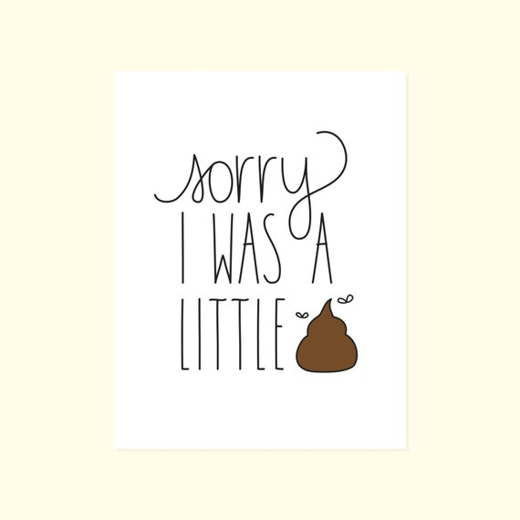 Adorable image for printable sorry cards