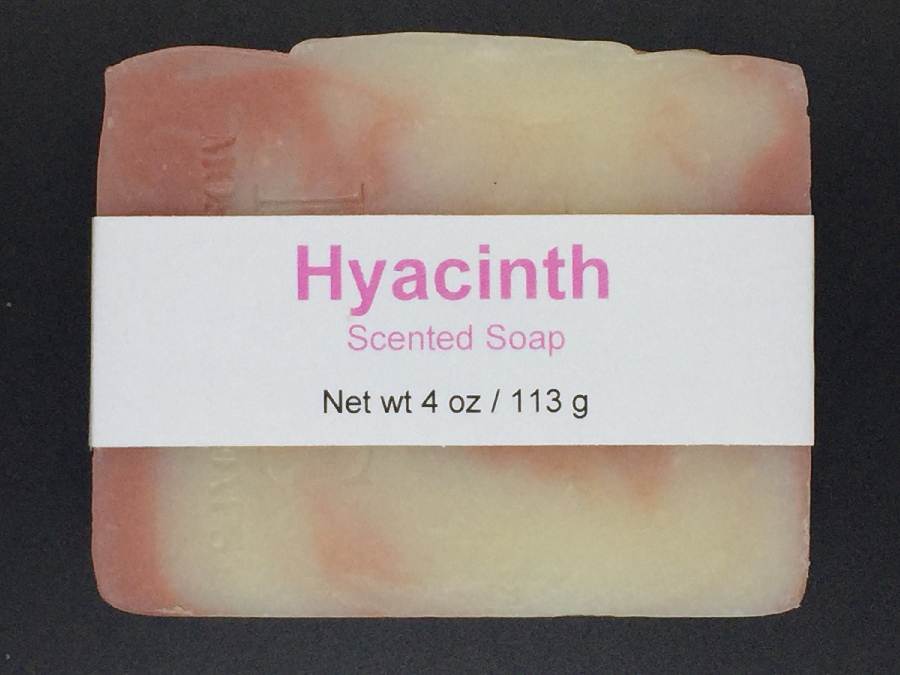 Hyacinth Scented Cold Process Soap With Shea Butter 4 Oz 113 G Bar