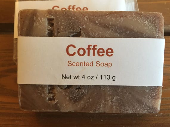Coffee Scented Cold Process Soap with Shea Butter