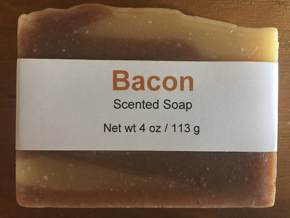 Bacon Scented Novelty Cold Process Soap