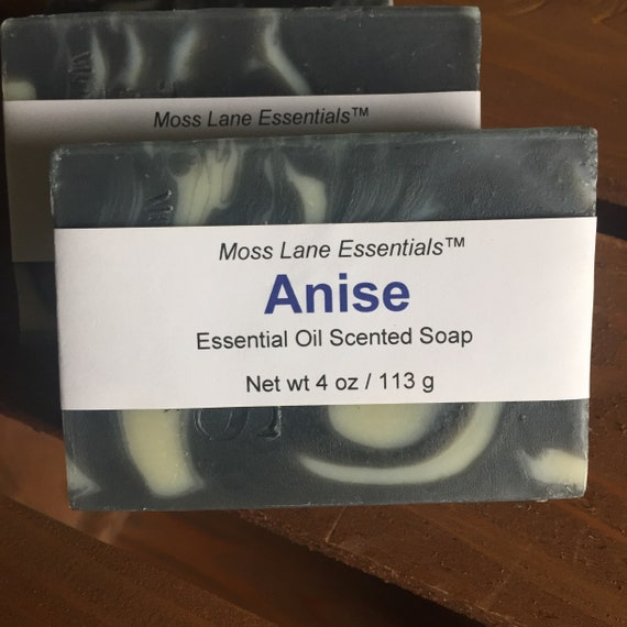Anise Essential Oil Cold Process Soap with Shea Butter