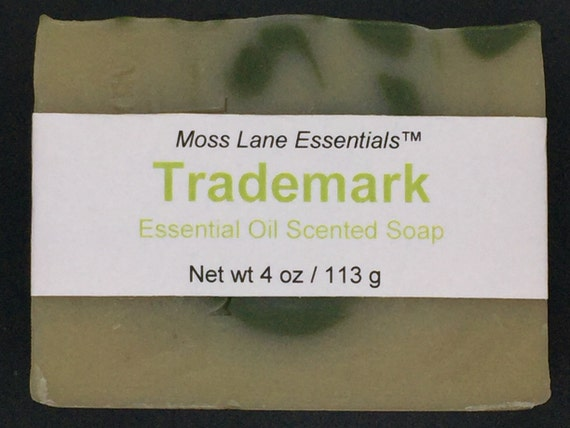 Trademark Essential Oil Scented Cold Process Soap with Shea Butter, 4 oz / 113 g bar