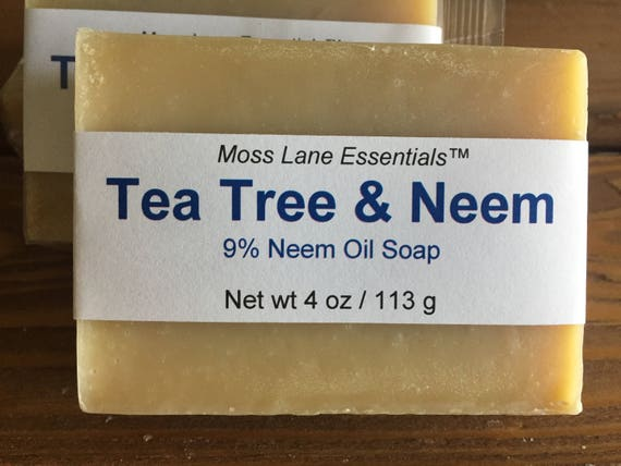 Tea Tree and Neem Oil Cold Process Soap