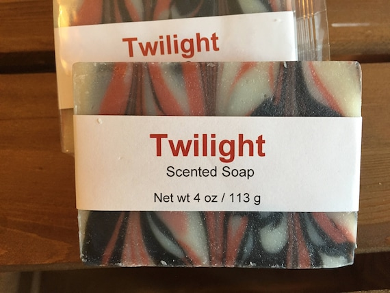 Twilight Scented Cold Process Soap with Shea Butter