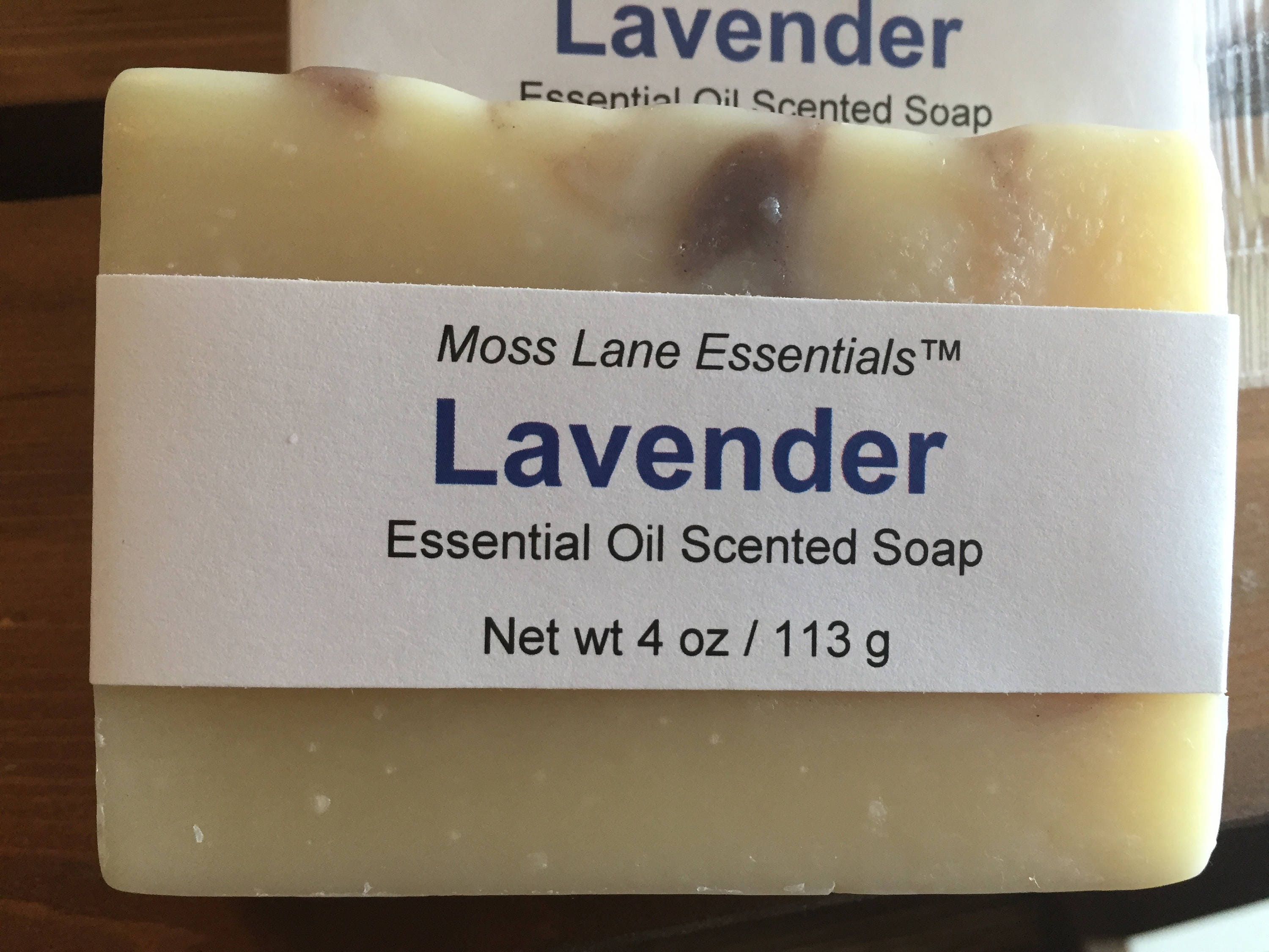 Lavender Essential Oil Scented Cold Process Soap With Shea Etsy