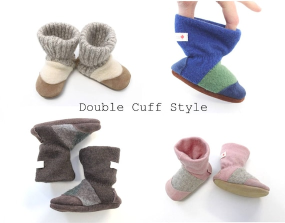Wool baby boots baby slippers baby