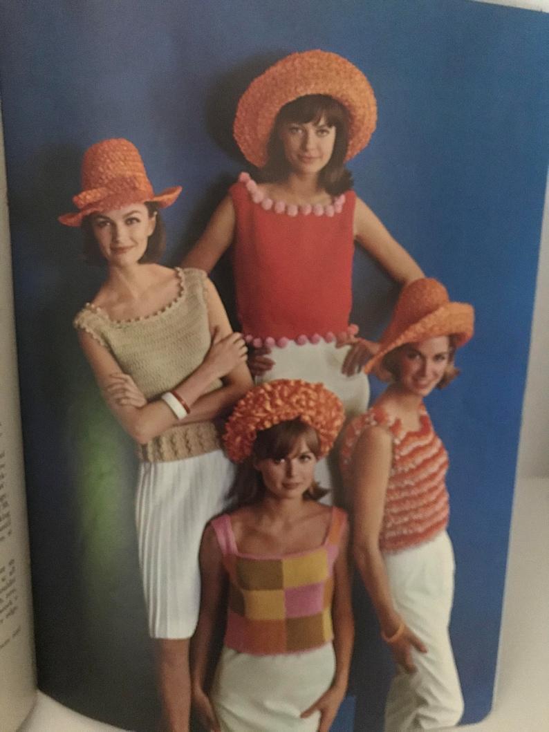 New York World/'s Fair  1964 Knitted Crocheted Pattern Book WF1