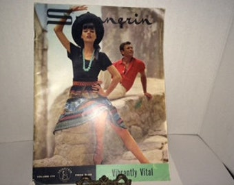 "Vintage Spinnerin ""Vibrantly Vital"" Knitting Pattern Book, 1964, Vol. 174"