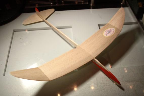 Georgia Balsa Gliders Swift 19 Model Airplane Etsy