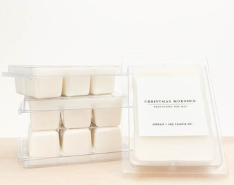 CHRISTMAS MORNING Soy Wax Melts   Scented Soy Tarts, Soy Candle Melt, Scented Wax Cubes   Wholesale, Bulk Order