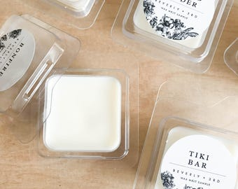 WAX SAMPLE Scented Soy Wax Melts   Soy Tarts, Soy Candle Melt, Scented Wax Cubes   Scent Shot