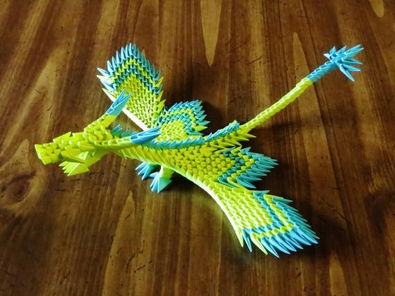 3D Origami Dragon Tutorial | Make dragon 3d Origami Easy Thi… | Flickr | 428x570