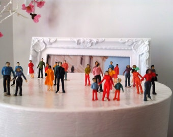 10 very small pieces lots diorama little people figurines plastics always combine price shipping