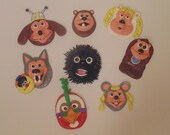 Items Similar To Handmade Rock Afire Explosion Magnets
