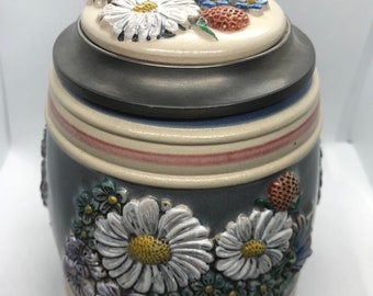 Limited Edition Gerz Wild Flowers Stein