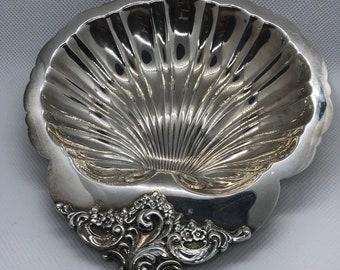 Shell Silver Plated Bon Bon Dish