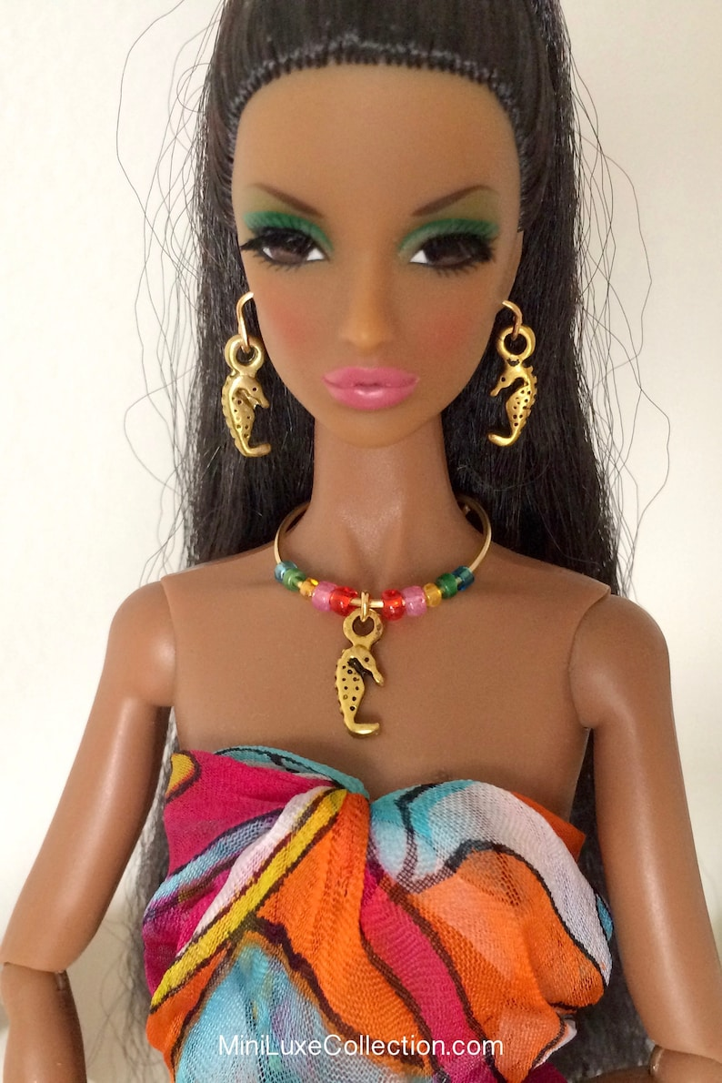 Fashion royalty Integrity toys jewelry earrings