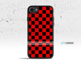 chequered iphone 7 case