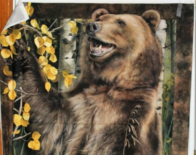 Penny Rose Wild & Playful Bear Panel P7820-BEAR