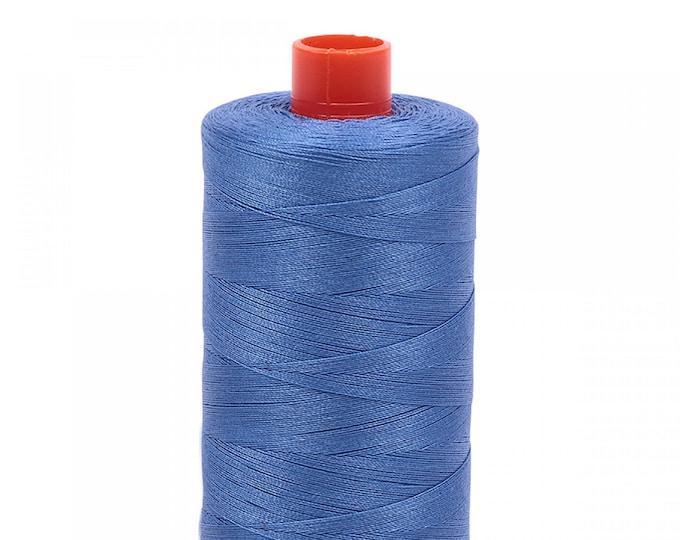 AURIFIL MAKO 50 Wt 1300m 1422y Color 1128 Light Blue Violet Quilt Cotton Quilting Thread