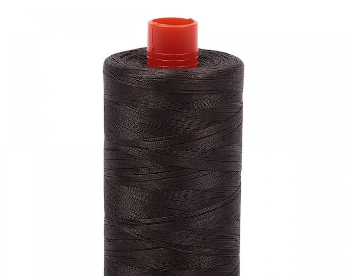 AURIFIL MAKO 50 Wt 1300m 1422y Color 5013 Asphalt Cotton Quilting Thread