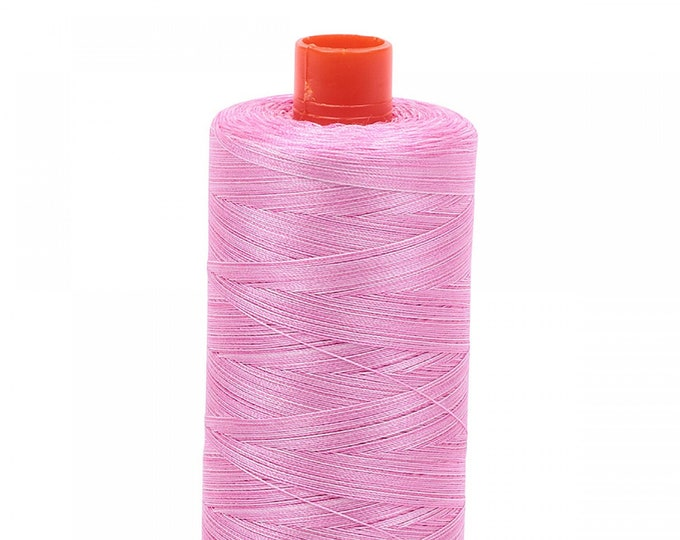 AURIFIL MAKO 50 Wt 1300m 1422y Color 3660 Bubblegum Variegated Quilt Cotton Quilting Thread