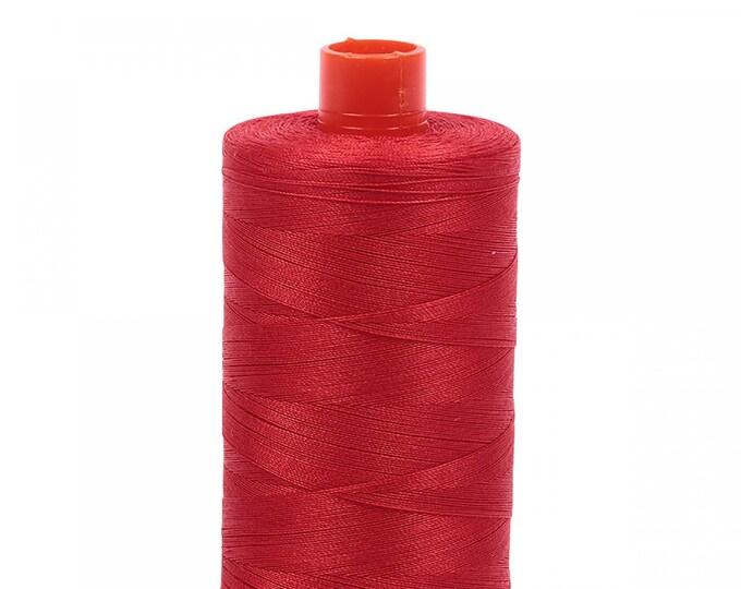 AURIFIL MAKO 50 Wt 1300m 1422y Color 2270 Paprika Quilt Cotton Quilting Thread