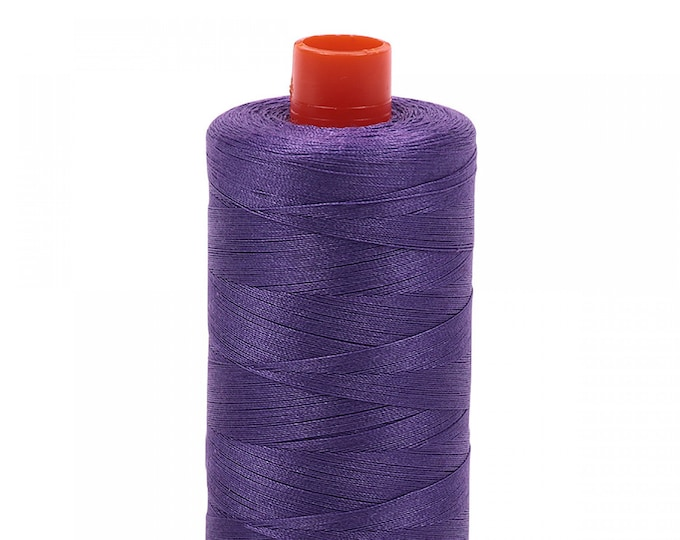 AURIFIL MAKO 50 Wt 1300m 1422y Color 1243 Dusty Lavender Quilt Cotton Quilting Thread