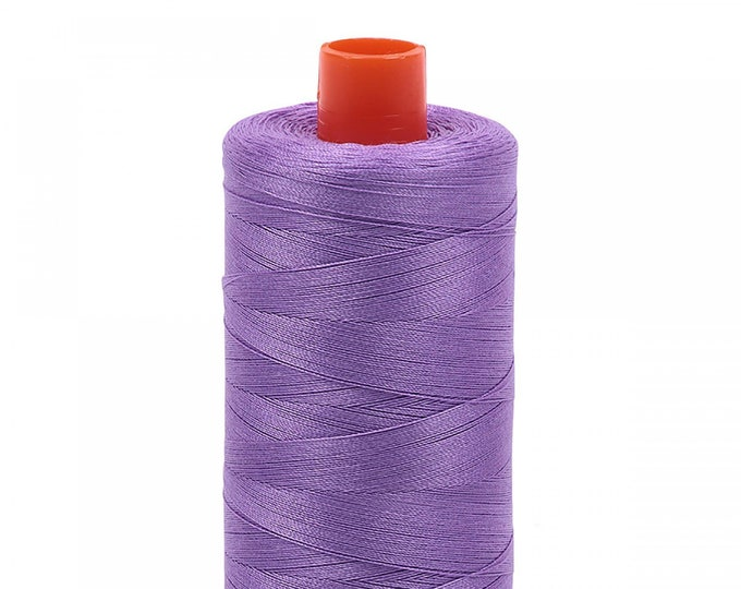 AURIFIL MAKO 50 Wt 1300m 1422y Color 2520 Violet Quilt Cotton Quilting Thread