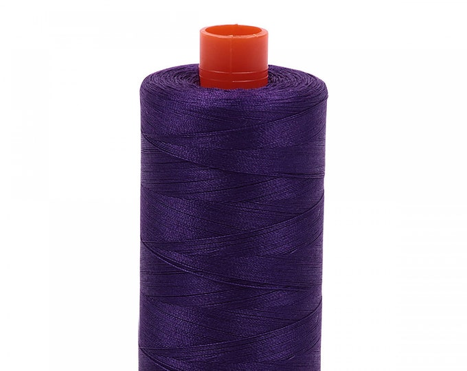 AURIFIL MAKO 50 Wt 1300m 1422y Color 2545 Medium Purple Quilt Cotton Quilting Thread