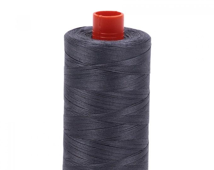 AURIFIL MAKO 50 Wt 1300m 1422y Color 6736 Jedi Cotton Quilting Thread