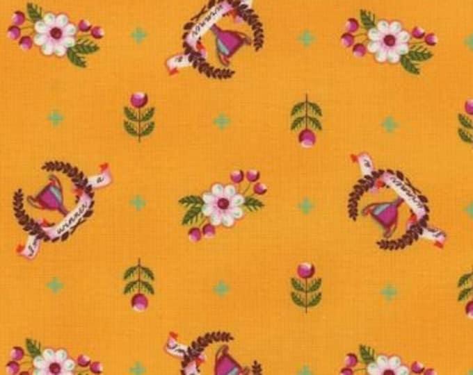Tula Pink Slow and Steady Orange