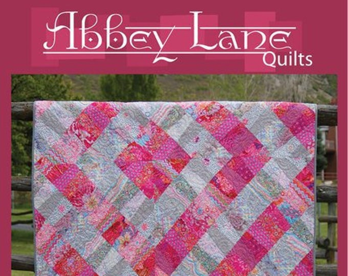 Abbey Lane Quilts Maybe I'm Amazed Fat Quarter Friendly Quilt Pattern 59 x 76