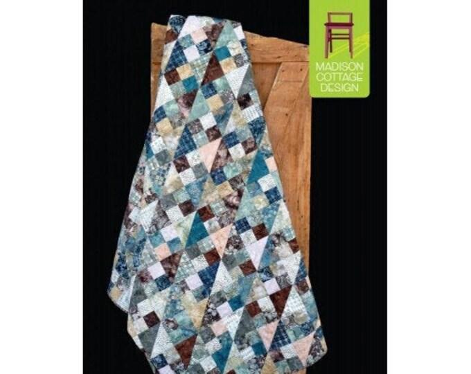 Madison Cottage Gorgonzola Fat Quarter Charm Square Friendly 4 Sizes Quilt Pattern