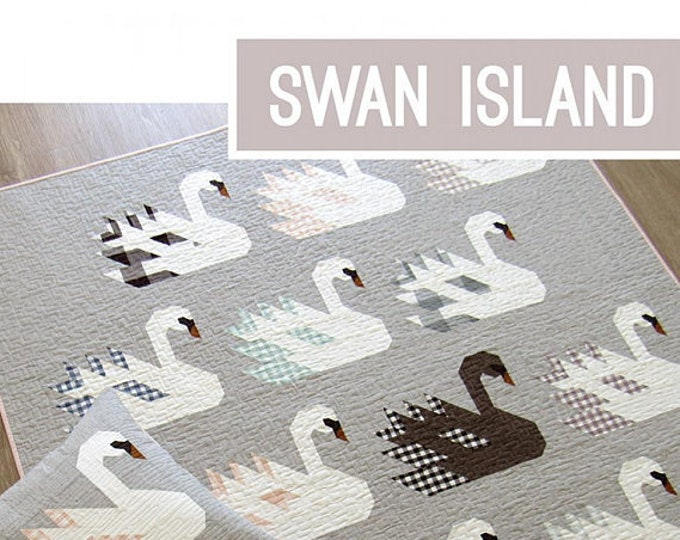 NEW Swan Island  Elizabeth Hartman Quilt Modern Pattern 4 Sizes