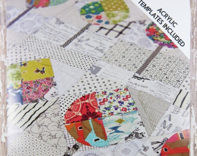 Jen Kingwell The Avenue Modern Quilt Pattern ONLY NO templates