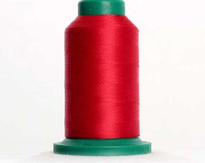 ISACORD Polyester Embroidery Thread 1902 Poinsettia 1000m
