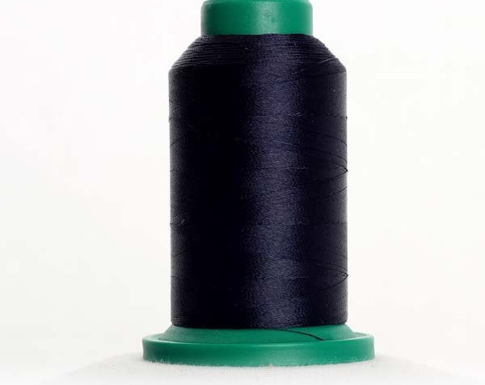 ISACORD Polyester Embroidery Thread Color 3554 Navy  1000m