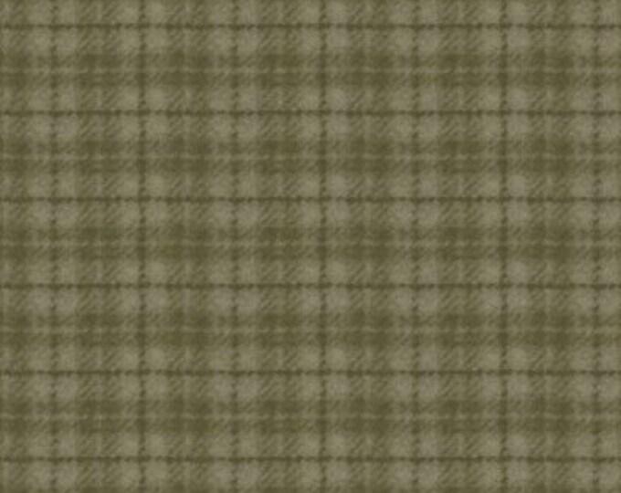 Maywood Woolies Green Olive Sage Plaid FLANNEL Fabric MASF-18502-G2 BTHY