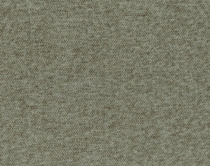 Marcus Primo Heathers Soft Yarn Dyed Flannel Medium Grey Gray Cream Fabric  J371-0147 BTY