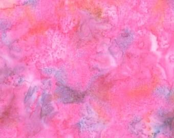 Hoffman 1895 Watercolors Solid Batik Fabric 1895-277 Koi Light Orange BTY