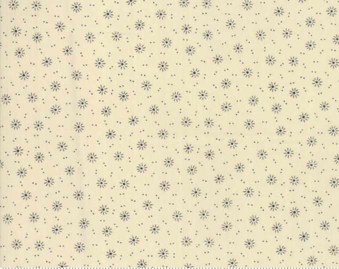 Moda Jos Shirtings by Jo Morton Cream Gray Grey Beige Floral Civil War Fabric 38041-12 BTY