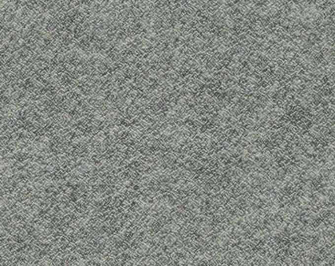 Kaufman Shetland Flannel Medium Grey Gray Fabric 13937-12 BTY