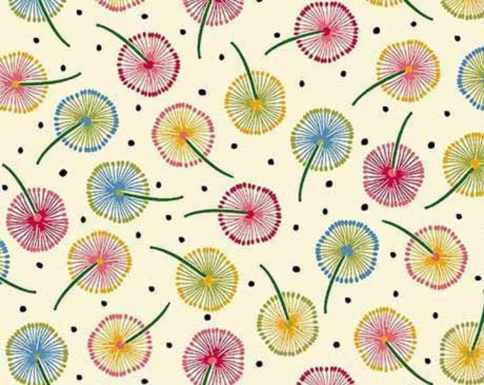 Ink & Arrow Dandelion Puffs Cream Ellery 26288-E BTY