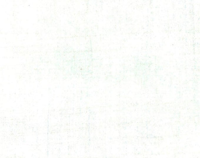 Moda Basic Grey Grunge Snow White Mottled Background 30150-150 Fabric BTY